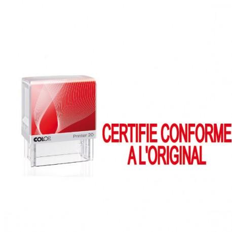 """Printer 20 formule """" CERTIFIE CONFORME A L'ORIGINAL"""""""